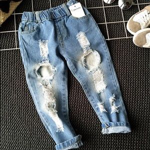 Other - Clunky Hole Jeans